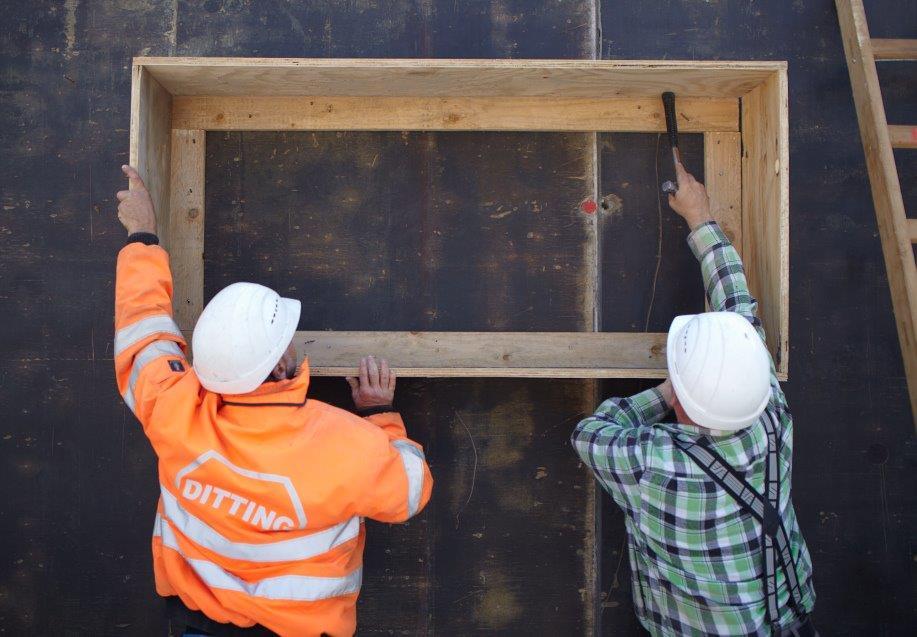 Ditting Baufirma Leistung Generalunternehmer Generalübernehmer Wohnungsbau