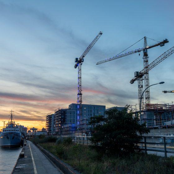 Baakenhafen 91/93 Ditting Hamburg HafenCity Blue Ports