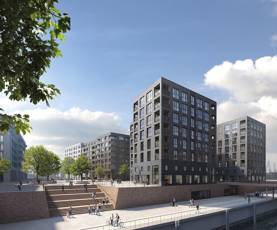 Elbkant HafenCity Hamburg Ditting