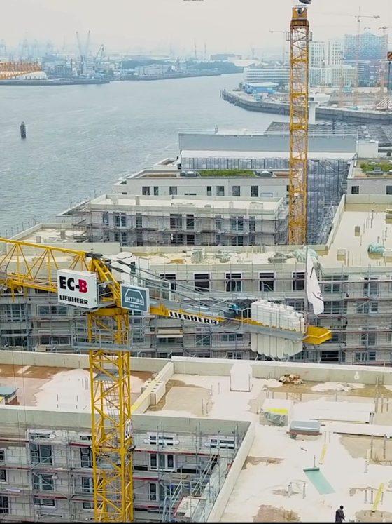 Mietwohnungen HafenCity Ditting Hamburg