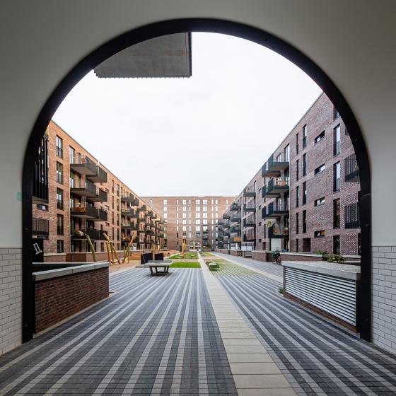 Pergolenviertel 3b Hamburg Ditting Wohnungsbau