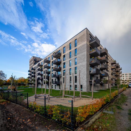 Pergolenviertel 2b Hamburg Ditting Wohnungsbau