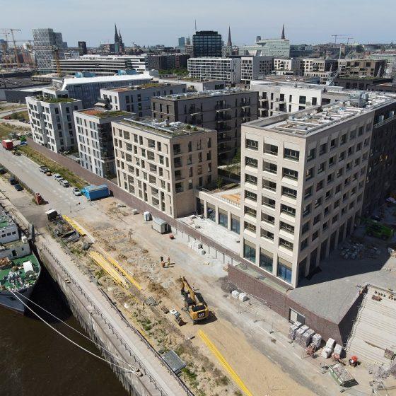 Baakenhafen Baufirma Ditting Bauingenieur Projektentwicklung